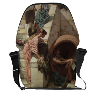 Diogenes by John William Waterhouse Courier Bag