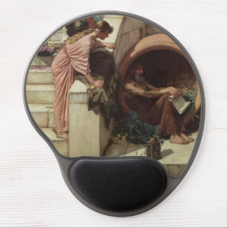 Diogenes by John William Waterhouse Gel Mouse Pads