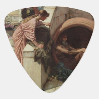 Diogenes by John William Waterhouse Guitar Pick
