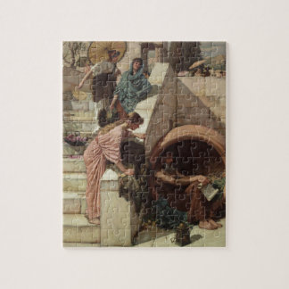 Diogenes by John William Waterhouse Jigsaw Puzzle