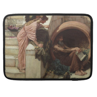Diogenes by John William Waterhouse Sleeve For MacBooks