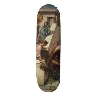 Diogenes by John William Waterhouse Skateboard