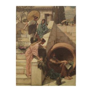 Diógenes de John William Waterhouse Impresiones En Madera