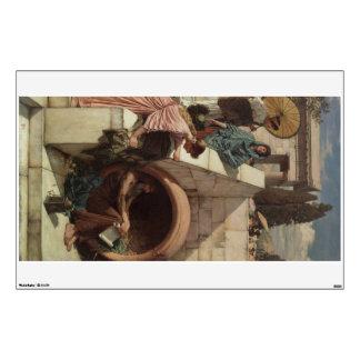 Diógenes de John William Waterhouse Vinilo Adhesivo