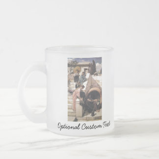 Diogenes Frosted Glass Coffee Mug
