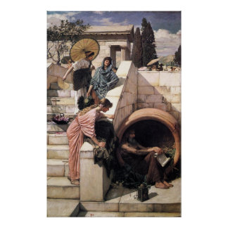 Diogenes Poster