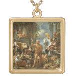 Diógenes que busca para un hombre honesto, c.1650- joyería