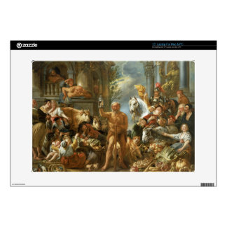 "Diogenes Searching for an Honest Man, c.1650-55 (o 15"" Laptop Decals"