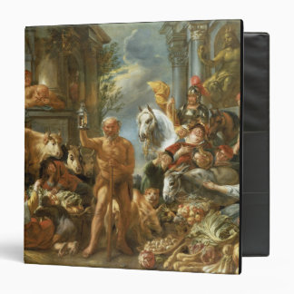 Diogenes Searching for an Honest Man, c.1650-55 (o 3 Ring Binder