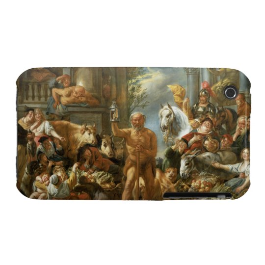 Diogenes Searching for an Honest Man, c.1650-55 (o iPhone 3 Case-Mate Case