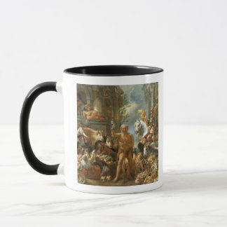 Diogenes Searching for an Honest Man, c.1650-55 (o Mug