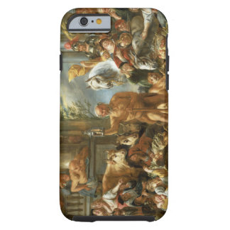 Diogenes Searching for an Honest Man, c.1650-55 (o Tough iPhone 6 Case