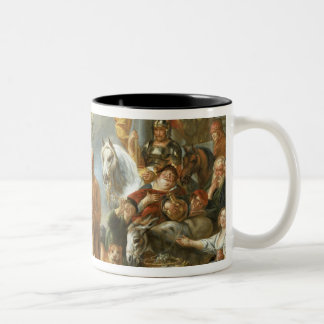 Diogenes Searching for an Honest Man, c.1650-55 (o Two-Tone Coffee Mug