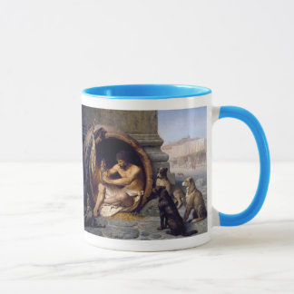 Diogenes Surrounded by Dogs - by Jean Leon Gerome Mug