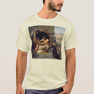 Diogenes Surrounded by Dogs - by Jean Leon Gerome T-Shirt