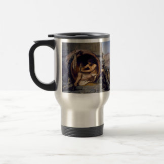 Diogenes Surrounded by Dogs - by Jean Leon Gerome Travel Mug