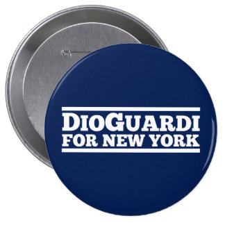 DioGuardi for New York Pinback Button