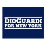 DioGuardi for New York Postcards