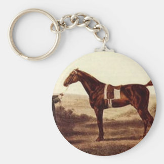Diomed by George Stubbs Keychain