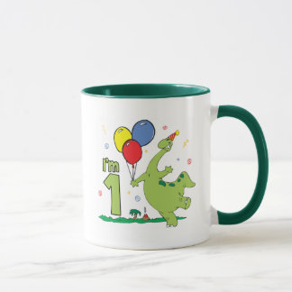 Dion First Birthday Mug