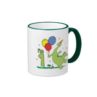 Dion First Birthday Mugs