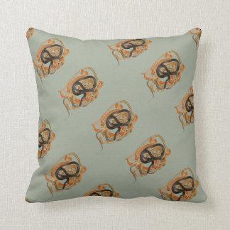 Dione Ratsnake Throw Pillow