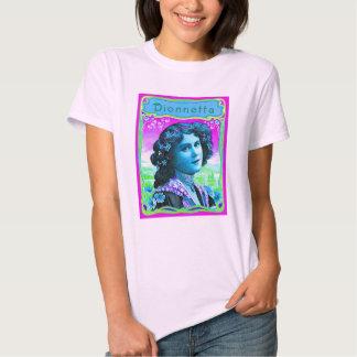 Dionnetta babydoll pink t-shirt