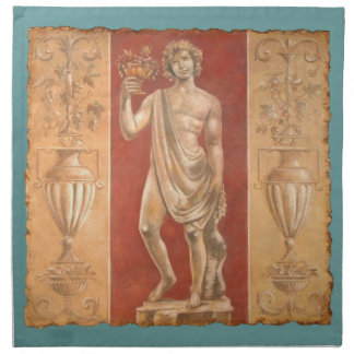 Diontsus with Urns Cloth Napkin