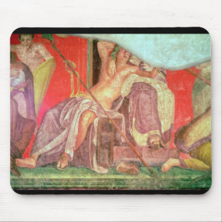 Dionysian Entourage with Dionysus Mouse Pad