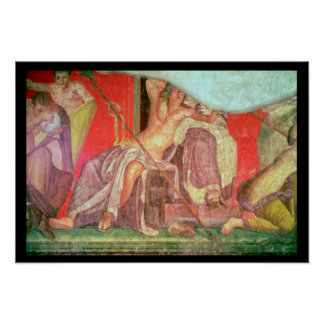 Dionysian Entourage with Dionysus Poster