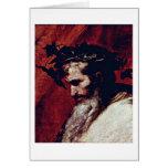 Dionysos By Jusepe De Ribera Card