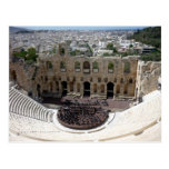 dionysus acropolis postcard