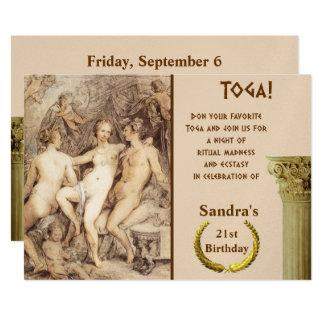Dionysus and Venus Card