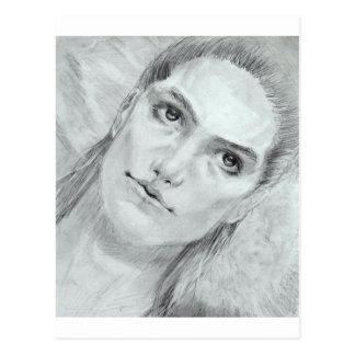 Dionysus of the skies postcard
