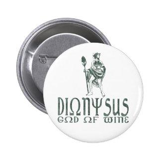 Dionysus Pin Redondo De 2 Pulgadas