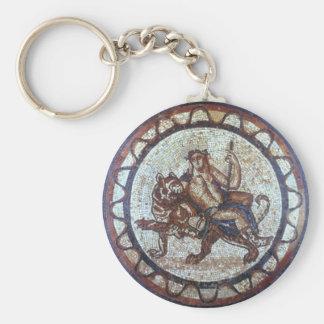 Dionysus Seal Basic Round Button Keychain