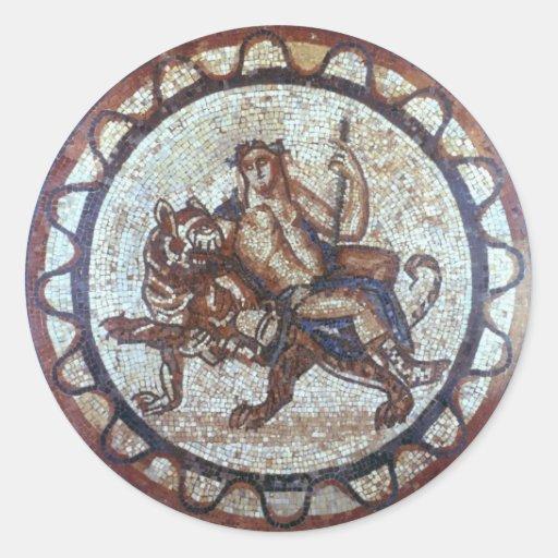 Dionysus Seal Classic Round Sticker