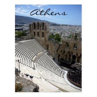 dionysus seats postcard