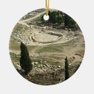 Dionysus Theater Christmas Tree Ornament