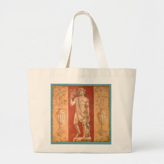 Dionysus with Urns Large Tote Bag
