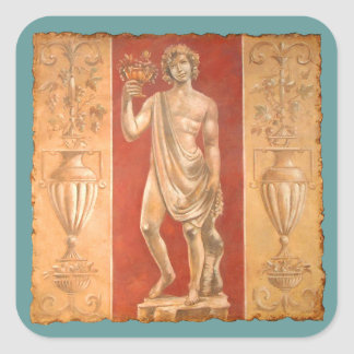 Dionysus with Urns Square Sticker