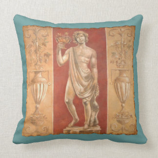 Dionysus with Urns Throw Pillow