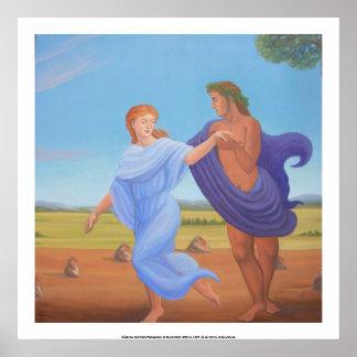 Dionysus y Kore Póster