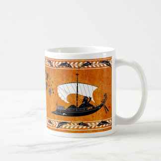Dionysus y la taza del estilo de los piratas