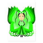 Diopside Butterfly Princess Business Card Template