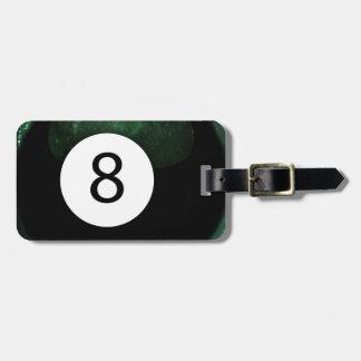 Diopside Magic 8 Ball Bag Tag
