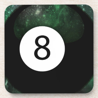 Diopside Magic 8 Ball Drink Coaster
