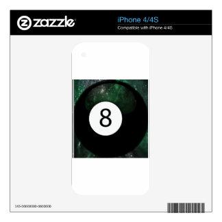 Diopside Magic 8 Ball iPhone 4S Skin