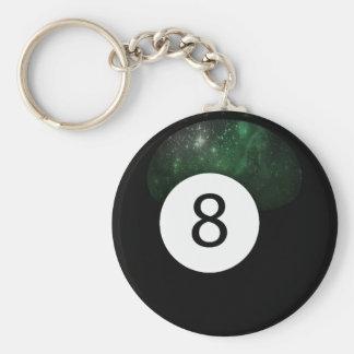 Diopside Magic 8 Ball Keychain