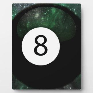 Diopside Magic 8 Ball Plaque